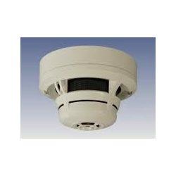 Füstérzékelő, kombinált optikai hő- és hősebesség érzékelő, CO gáz érzékelő és infravörös lángérz.