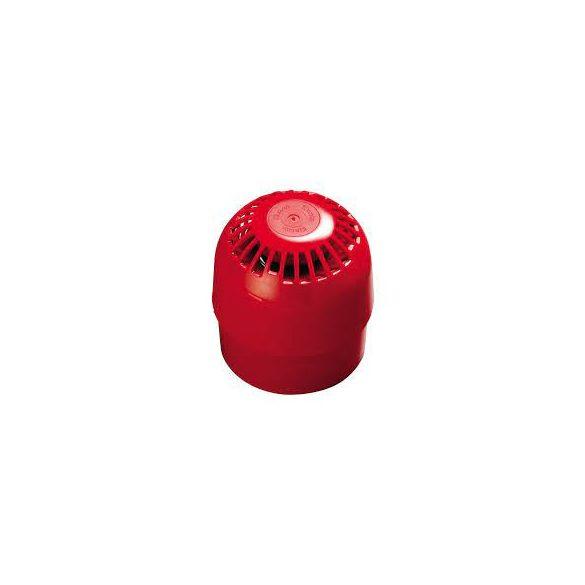 APOLLO Intelligens hangjelző, piros, IP65, izolátorral, huroktáplált