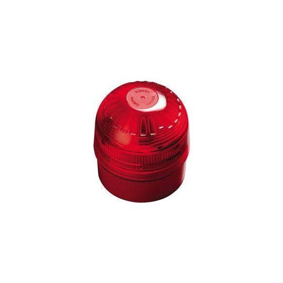 APOLLO XP95 Intelligens hang- fényjelző, piros, IP65, izolátorral, huroktáplált