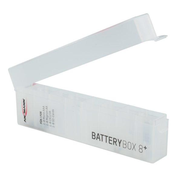 ANSMANN akkumuláto/elem tartó box 8db-os