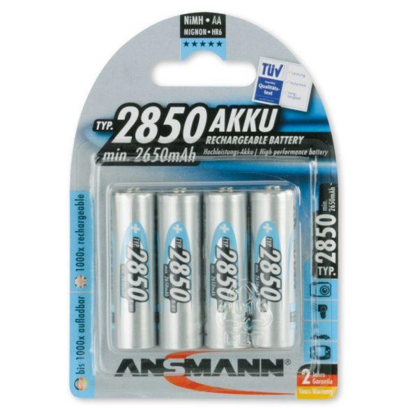 ANSMANN Ni-MH AA/ceruza 2850 mAh akkumulátor 4 db/csomag