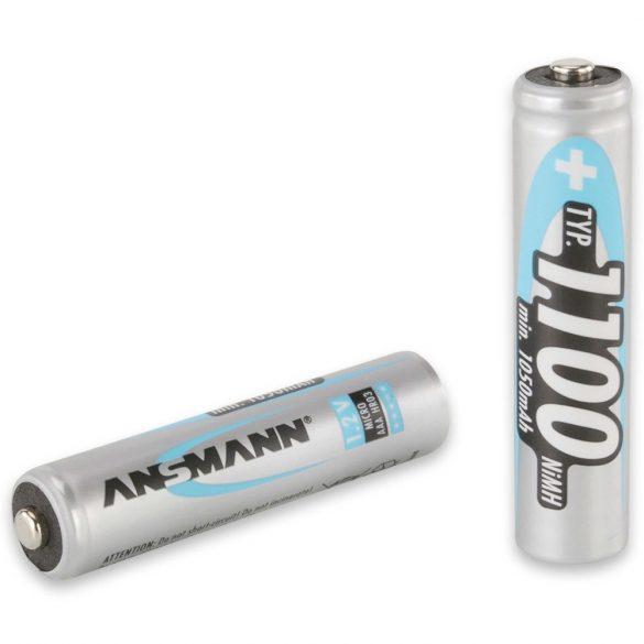 ANSMANN Ni-MH AAA/mikro 1100 mAh akkumulátor 4 db/csomag