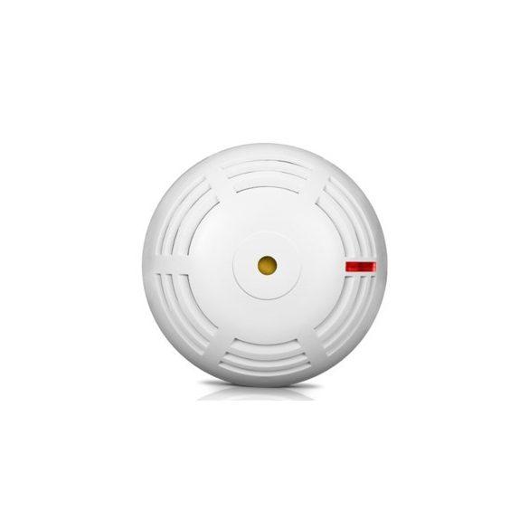 SATEL ASD-250 ABAX2 vezeték nélküli füstérzékelő; önálló működési lehetőség