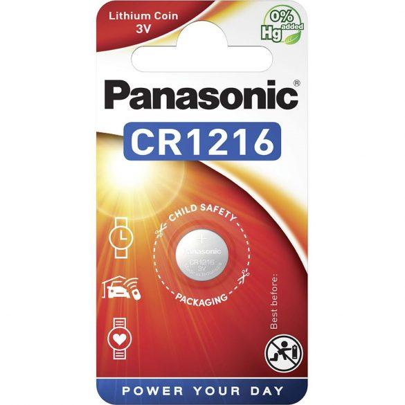 Panasonic CR1216 3V lítium gombelem 1db/csomag