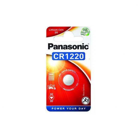 Panasonic CR1220 3V lítium gombelem 1db/csomag