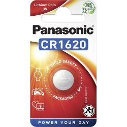 Panasonic CR1620 3V lítium gombelem 1db/csomag