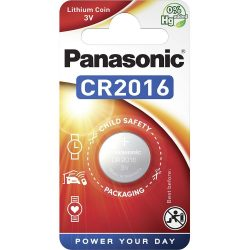 Panasonic CR2016 3V lítium gombelem 1db/csomag