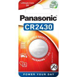 Panasonic CR2430 3V lítium gombelem 1db/csomag