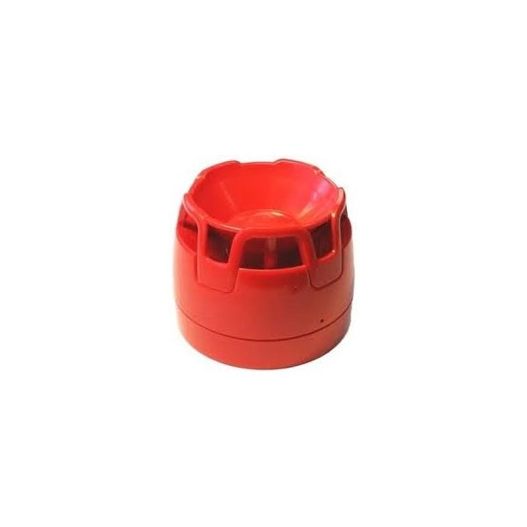 Hangjelelző hagyományos piros + lapos aljzat