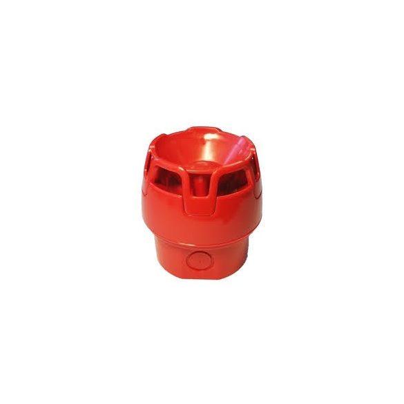 Hangjelelző hagyományos piros + magas aljzat kültéri