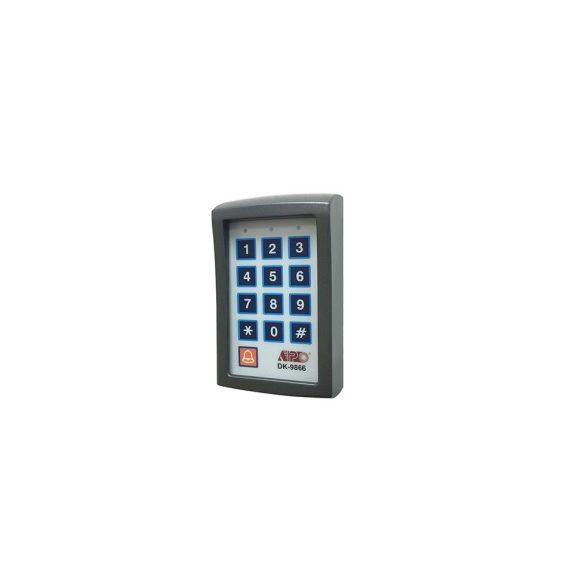 Kódzár érintőfelületes (mikrokapcsolós) bel- és kültéri , 3 kimenetes