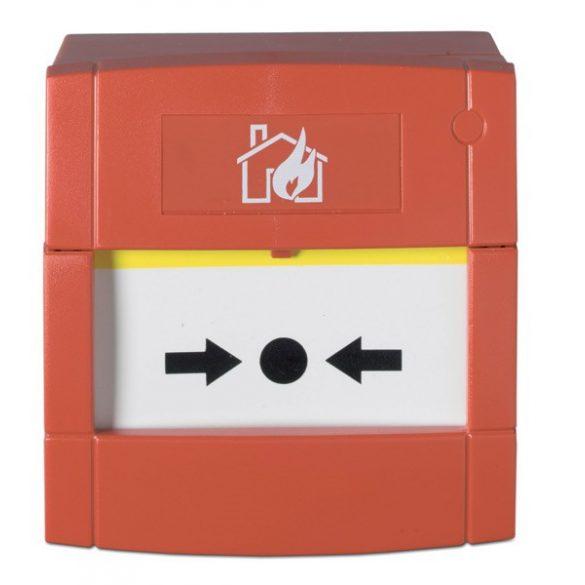 KÉZI JELZÉSADÓ 1 VÁLTÓKONTAKT. LED (fali doboz nélkül) /DMN700L/ PIROS