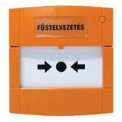 KÉZI JELZÉSADÓ 1 VÁLTÓKONTAKT. (fali doboz nélkül) narancs sárga/DMN700O/