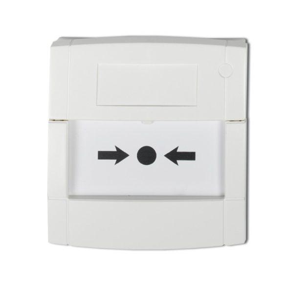 KÉZI JELZÉSADÓ 1 VÁLTÓKONTAKT.(fali doboz nélkül) fehér /DMN700W/