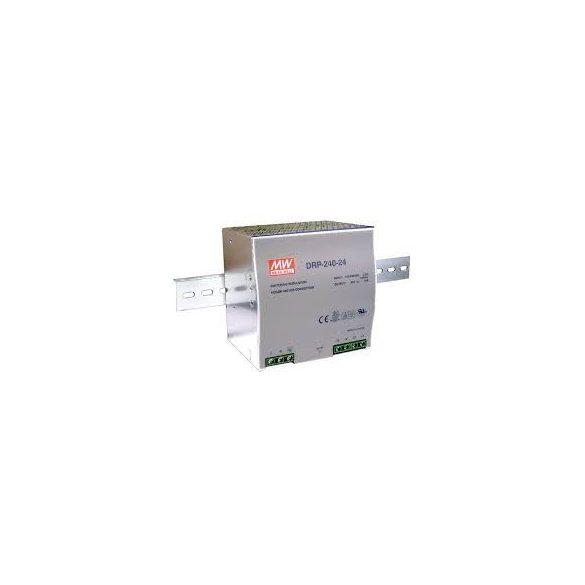 TÁPEGYSÉG 24V 10A DIN sínre szerelhető kapcsolóüzemű tápegység