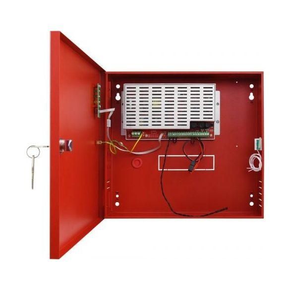 tápegység tűzjelző rendszerekhez (EN54-4) - C sorozat, EN54 27.6V/2A/2x7Ah