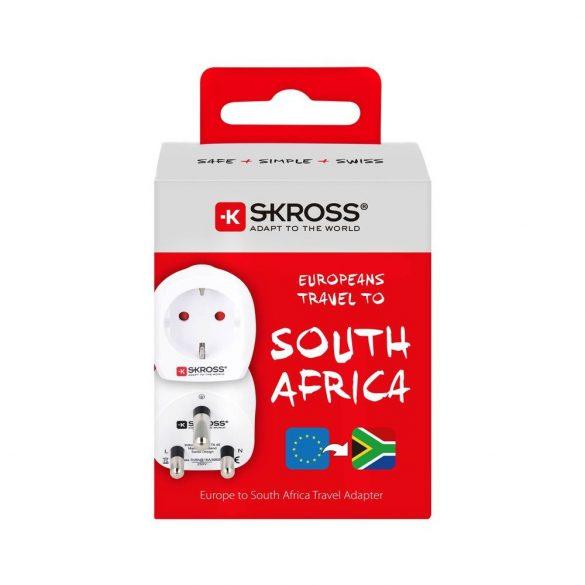 SKROSS csatlakozó átalakító Dél-Afirkába utazóknak