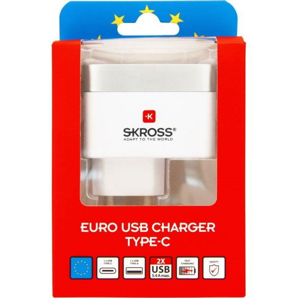 SKROSS Euro USB Charger Type-C