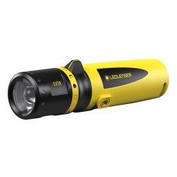 LEDLENSER EX7R tölthető Robbanásbiztos ATEX lámpa 1/21 Zone