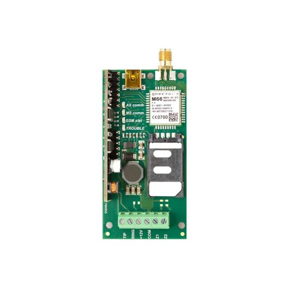 GSM COMPACT-ECOLINE Adapter 2 bem. 32 tel.szám SMS, ráhívás CID comm. USB