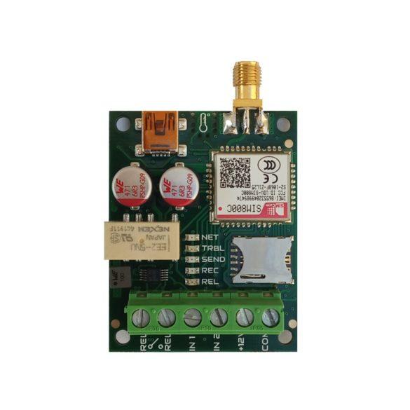 Vezérlés és riasztás küldés telefonra (GSM)