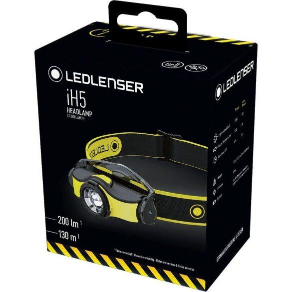 LEDLENSER iH5 ipari fejlámpa 200 lm 1xAA