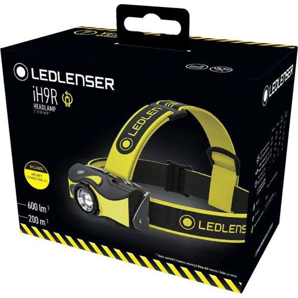 LEDLENSER iH9R tölthető ipari fejlámpa 600 lm Li-ion 2x14500 Battery Pack 3.7V