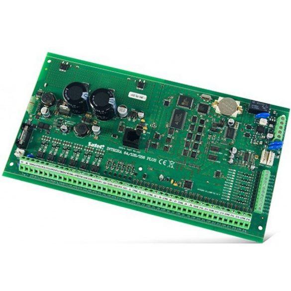 16-256 zónás riasztóközpont-alaplap; 32 partíció; 16-256 kimenet; telefonkommunikátor; 2+1.5 A táp