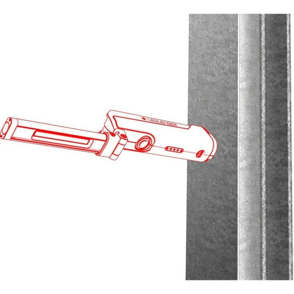 LEDLENSER iW5R tölthető flexibilis munkalámpa/SPOT/fényvető Li-ion 18650 3.7V 600 lumen