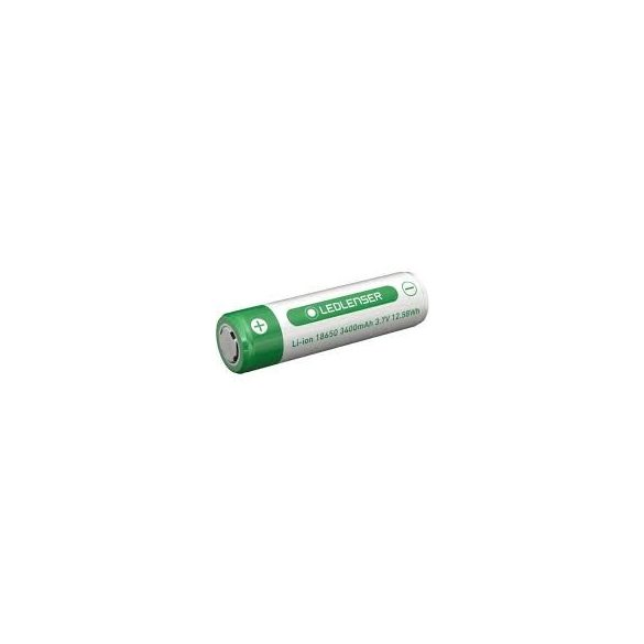 LEDLENSER 18650 Li-Ion tölthető akku 3,7 V / 3400 mAh