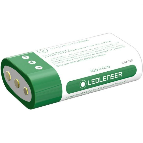 LEDLENSER 2x21700 li-ion akkupakk