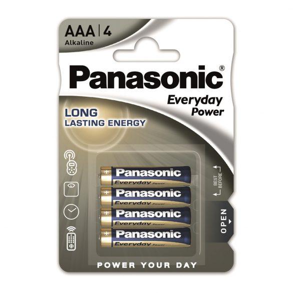 Panasonic Everyday Power AAA mikro 1.5V szupertartós alkáli elemcsomag 4db/bliszter