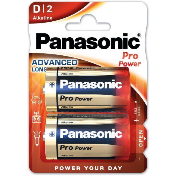 Panasonic Pro Power D/góliát 1.5V alkáli/tartós elemcsomag