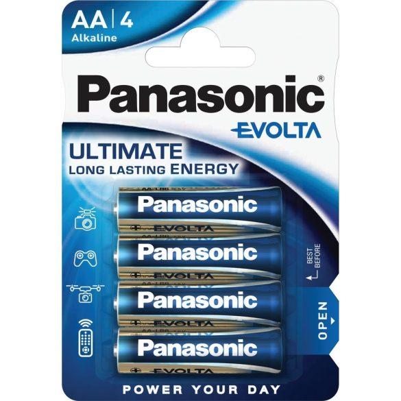 Panasonic EVOLTA AA ceruza 1.5V szupertartós alkáli elemcsomag