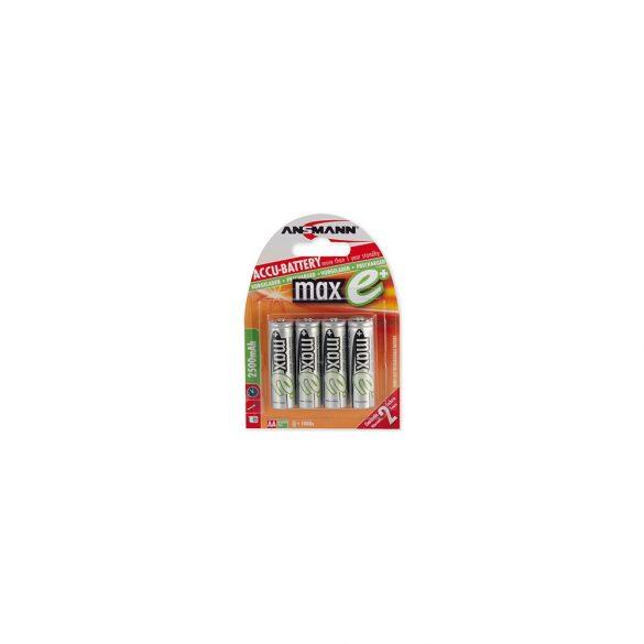 ANSMANN maxE Ni-MH AA/ceruza 2500 mAh alacsony önkisülésű akkumulátor 4db/csomag