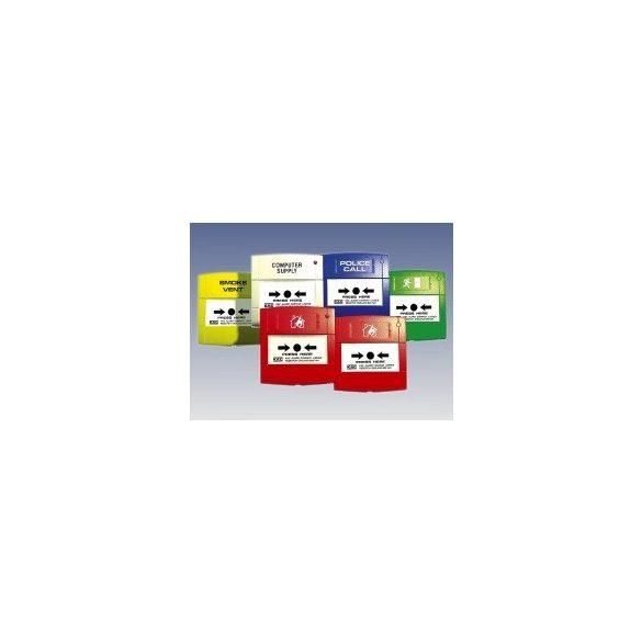 KÉZI JELZÉSADÓ /MCP3A-R02/ piros hátlappal