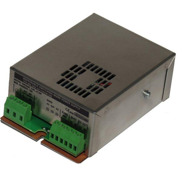 TÁPEGYSÉG szünetmentesíthető; 230VAC/24VDC-27.6VDC; akkumulátor töltés 4A high 2A Low