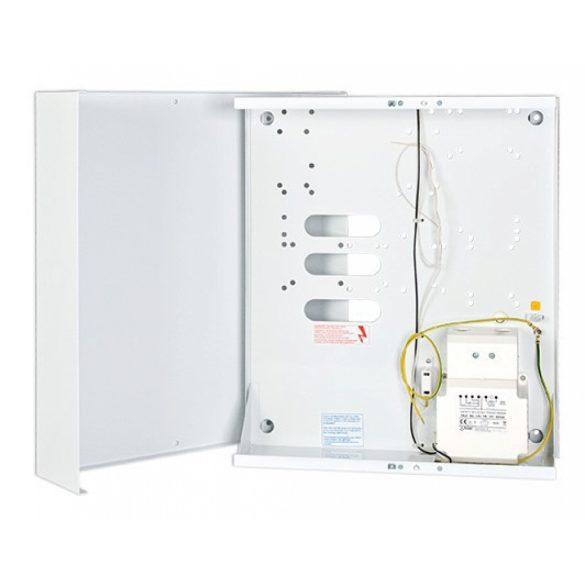 Fém doboz; transzformátorral; INT64, INT128 és INT256 plus központokhoz; 17 Ah akkumulátorhely