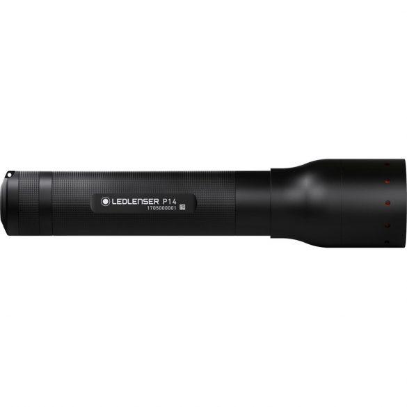 LEDLENSER P14 LED lámpa 1xC-LED 800lm, 4xAA elemmel