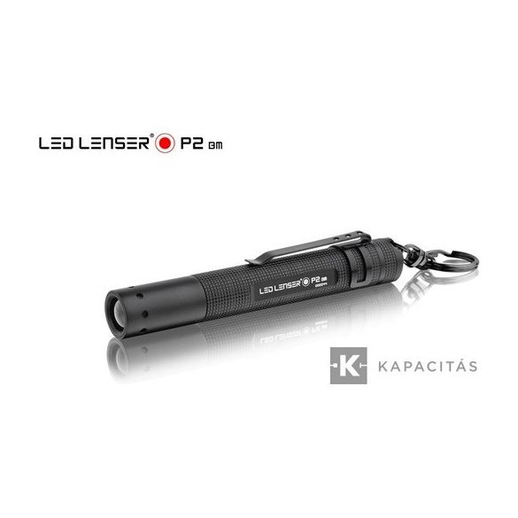LEDLENSER P2 LED lámpa 1x5MM fehér LED, 1xAAA elemmel, 16lm liszterben