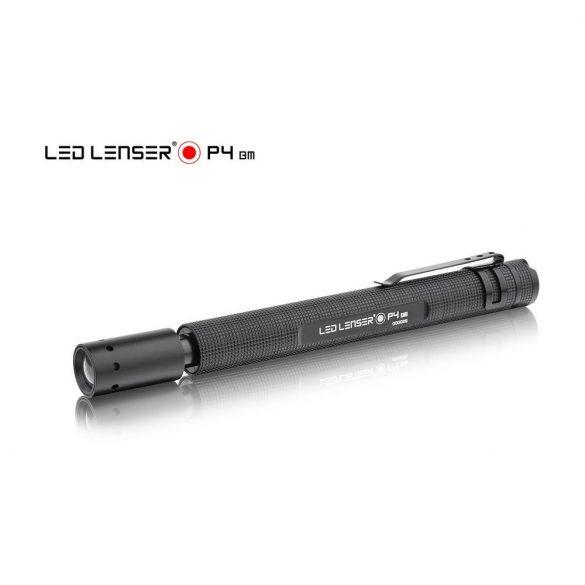 LEDLENSER P4 LED lámpa 1x5mm LED, 2xAAA elemmel, 18lm bliszterben