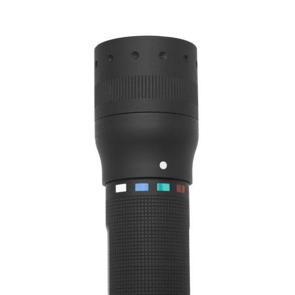 LEDLENSER P7QC LED lámpa, 1xXML multicolor LED, 4XAAA elemmel 220lm