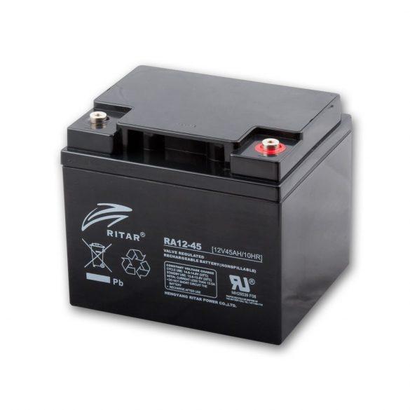 12V 45 Ah AKKUMULÁTOR /RITAR/