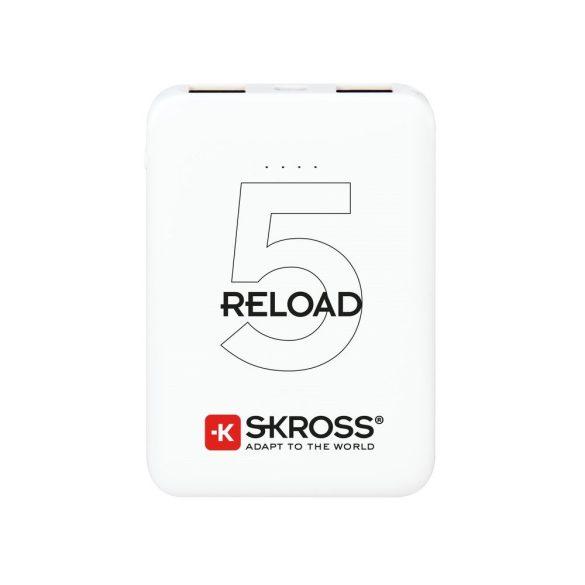 SKROSS Reload 5Ah power bank USB 2 kimenettel
