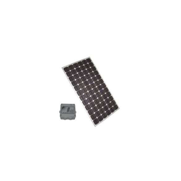 TÁPEGYSÉG napelem modul intelligens akkumulátor töltővel, max. 2A töltőáram