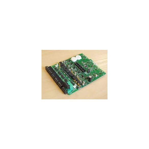 Kártya méretű vezérlő modul 6 db felügyeltkimenettel