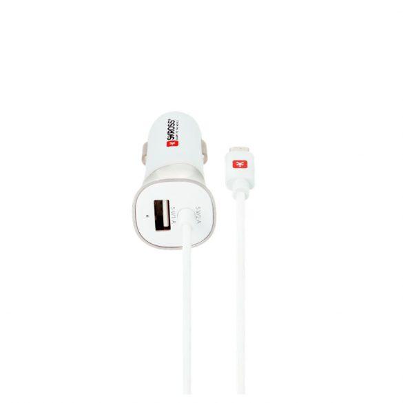 SKROSS autós USB töltő és MICRO USB kábel