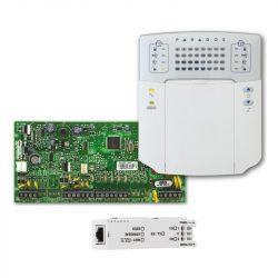 SP5500 központ, K32+ LED kezelő, IP150+ modul