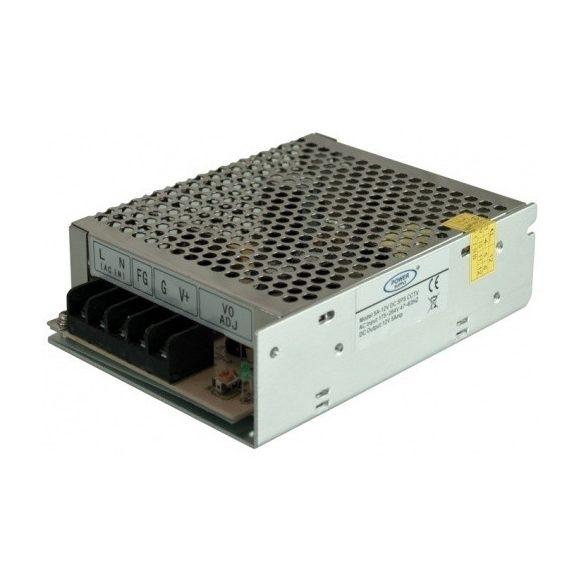 TÁPEGYSÉG Beépíthető CCTV 230 V / 12 V-os tápegység videotechnikai rendszerekhez 5A