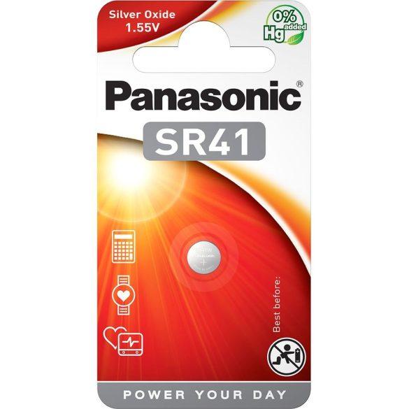 Panasonic SR-41 1,55V ezüst-oxid gombelem 1db/csomag